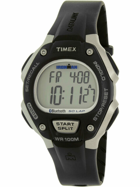 19a0e18854c Timex TW5K86300 Ironman Unisex Classic 50 Move+ Digital Watch Black Resin  Band