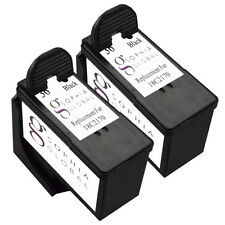 2 Black Ink Cartridge for Lexmark 36 Lex #36 X3650 X4650 X5650 X6650 X6675 Z2420