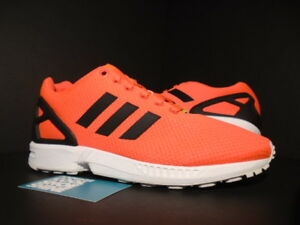 2014 ADIDAS ZX FLUX INFRARED ORANGE PINK WHITE BLACK ULTRA BOOST ... 87a419114