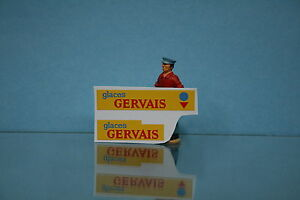 "Stickers, Decals & Iron-ons Decalcomanie Pour Hy ""glaces Gervais"" Dinky Toys Ref 561 Drip-Dry Dec019a"