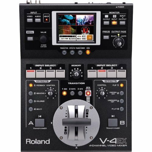 Roland Compact Video Mixer V-4EX 4 channels 10 inputs 3 outputs from Japan New