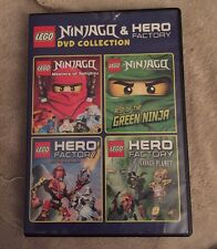 LEGO: Ninjago and Hero Factory DVD Collection 2014 by Warner