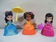 NWOB LOT OF 3 DISNEY SOFIA THE FIRST FIGURES RUBY VIVIAN HILDEGARD DELUXE FRIEND