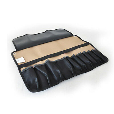 10 Pocket Chef Knife Roll Bag Chef Carving knife Carry Case Canvas Tool Roll Bag
