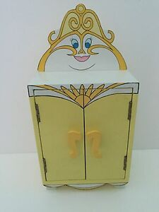 Disney Beauty And The Beast Enchanted Wardrobe Musical Jewelry Box