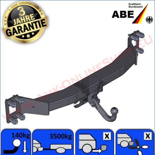 AHK ABE VW Touareg I Bj 02-10 Anhängerkupplung Anhängevorrichtung GARANTIE