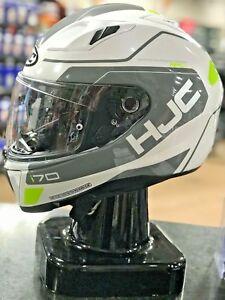 HJC Helmet I70 KARON WHITE//GREY XL