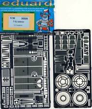 eduard Vought F-8J Crusader exterior Ätzteile 1:32 Trumpeter kit Modell-Bausatz