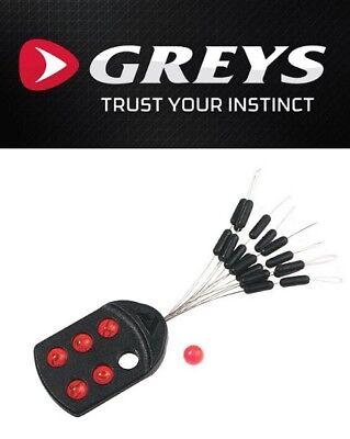 Greys Prowla Float Stops /& Beads 20 Stops und 6 Perlen Raubfischzubeh/ör Zubeh/ör Tool
