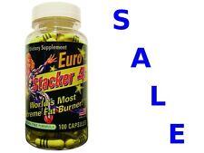 EURO STACKER 4 100 caps SUPER STRONG Fat Burner Diet Pills Weight Loss FREE P&P