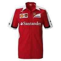 Puma Ferrari Men's Sf Team Shirt, Red