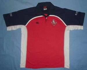 Lurgan College / late 1990's - CANTERBURY - vintage MENS rugby Shirt / Jersey. L - Poland, Polska - Lurgan College / late 1990's - CANTERBURY - vintage MENS rugby Shirt / Jersey. L - Poland, Polska