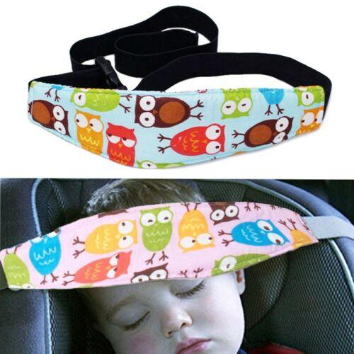 UK Adjustable Child Kids Safety Car Seat Travel Sleep Aid Head Strap Support New