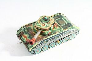 Nice-Old-Tin-Toys-Children-Collector-Tank-121-Tank-Elevator-Cz-Product