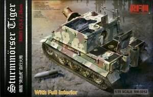 Rye-Field-Model-5012-1-35-Sturmmorser-Tigre-RM61-L-5-4-38-avec-Complet