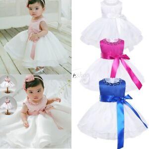 Vestido-Elegante-de-Princesa-Bautizo-Boda-para-Bebe-Nina-Regalo-Recien-Nacido