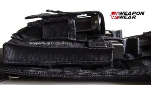 Tactical Rifle Sling Case plus Pistol and Included Mag Pouch Included and Plus Free Gift BK 9b6732