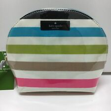 item 1 Kate Spade Keri St Elmo Stripe Cosmetic Bag Case NWT -Kate Spade Keri  St Elmo Stripe Cosmetic Bag Case NWT 7cfd60f236300