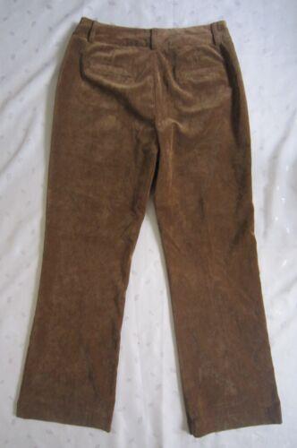 in da 10 Taglia Creek donna Pantaloni coste a velluto W32 Coldwater morbidi di nwot marrone P4fPqw8S15