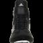 miniature 5 - ADIDAS Combat Speed 5 Wrestling Chaussures Bottes Noir Boxe MMA