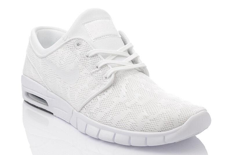 NIKE Stefan Janoski Max 631303114 Nuovo Nero Da Uomo Scarpe Da Ginnastica Sneaker Scarpe classiche da uomo