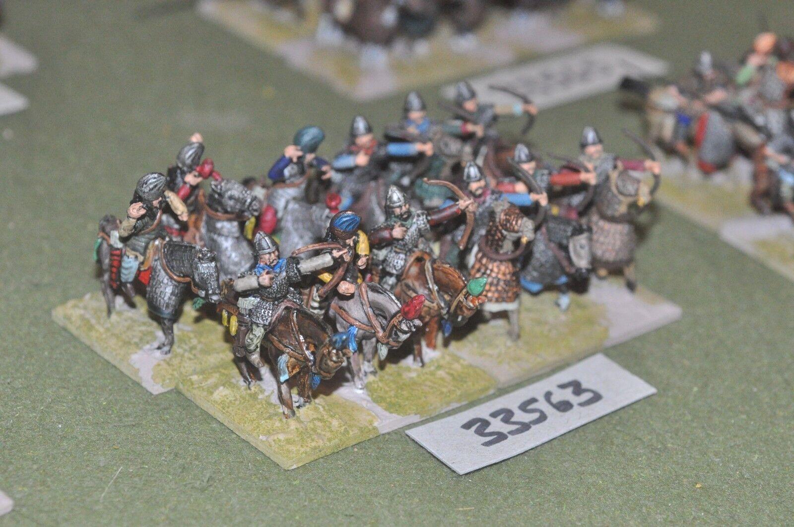 25mm roman era   sarmatian - heavy 12 figures - cav (33563)