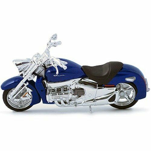 Honda Valkyrie Rune blueeeeeee Motorcycle Model Maisto 1 18 Die Cast Model