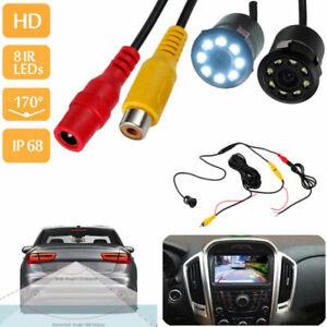 8-LED-Visore-notturno-impermeabile-parcheggio-inverso-telecamera-posteriore-IR
