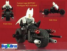 Batman Custom Lego BATPOD Cycle Made by ALL BLack Lego Parts AWESOME L@@K!
