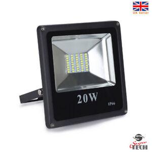 20 W Ip66 Del Cob Flood Lumière Spot Ip67 Blanc Froid Jardin Lumière/garage-afficher Le Titre D'origine Non Repassant