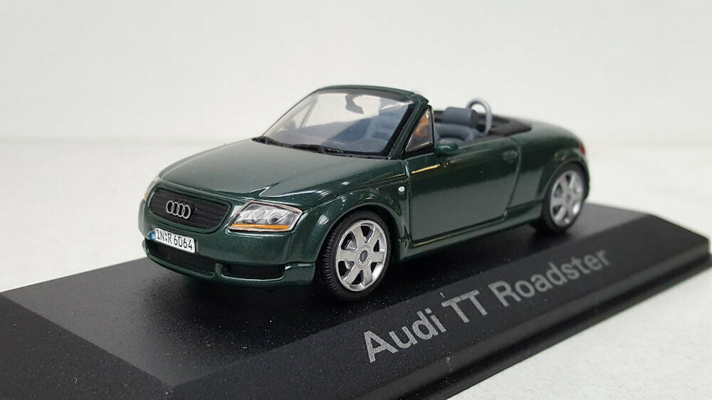 1 43 Audi TT Roadster Green Metallic 4030851621 Minichamps