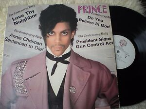 PRINCE-lp-CONTROVERSY-ORIGINAL-WARNER-BROTHERS-BSK-3601-VG