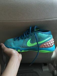 low priced 55950 3c524 Details about Kids aqua green nike kyrie 1 size 6 ok condition worn 6 times