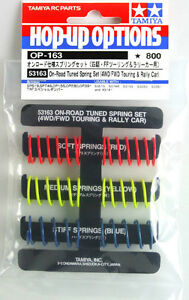 Tamiya-53163-OP163-On-Road-Tuned-Spring-Set-4WD-FWD-Touring-amp-Rally-Car