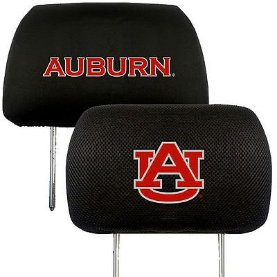 Clemson Tigers 2-pack Auto Head Rest Covers Headrest Cover Football University