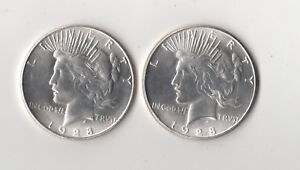 1964 D Toned Peace Dollar Fantasy Issue Novelty Magic Trick Coin