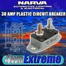 NARVA 30 AMP CIRCUIT BREAKER AUTO RESET, BATTERY 30A CARAVAN FUSE 54830
