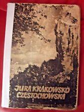 JURA KRAKOWSKO-CZĘSTOCHOWSKA - PAGACZEWSKI, 1955, POLISH BOOK, ALBUM ___________