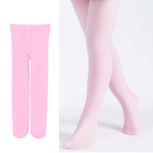 Toddler Kids Girl Solid Winter Pantyhose Soft Warm Tights Ballet Dance Stocking