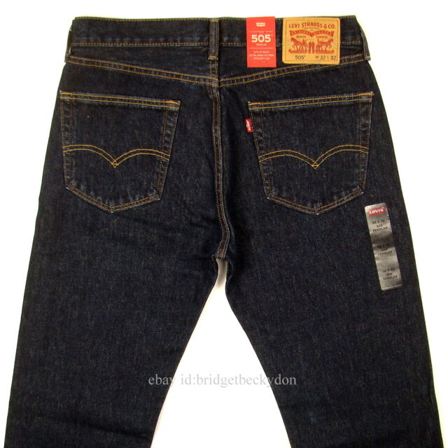2b71e5a2d43a Levi s Men s 505 Regular Fit Jean