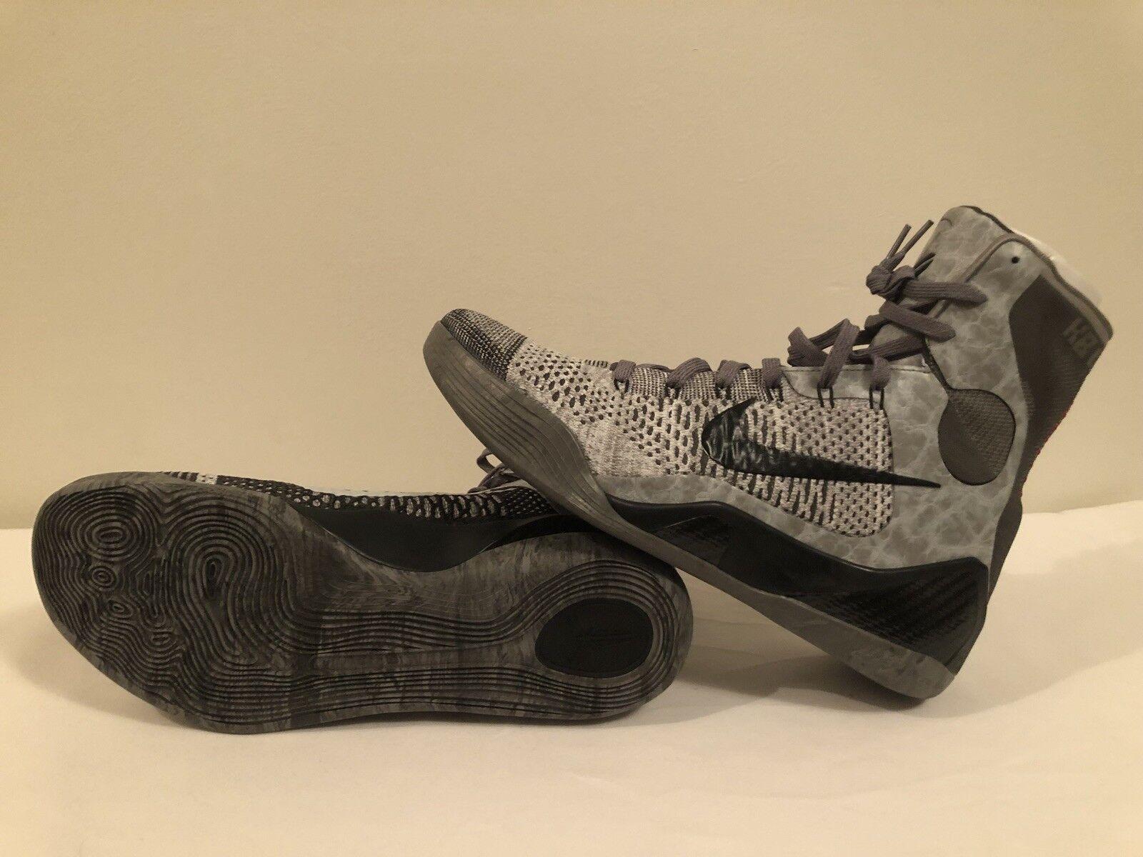 Men's Kobe 9 Elite High Dark Grey Size 13 New & Real