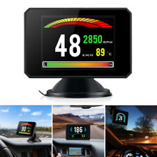 Head Up Display P16 Car Hud Obd Ii Obd2 Auto Gauge Dash Screen Projector Gauge
