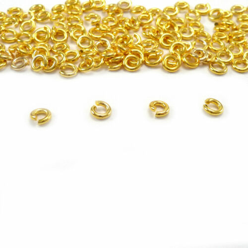 Wholesale 180-500 Pcs Split Jump Rings Open Connector Jewelry Finding 4//6//8//10MM