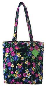 New-With-Tags-Vera-Bradley-Solid-Interior-Tote-Shoulder-Bag-Choose-color