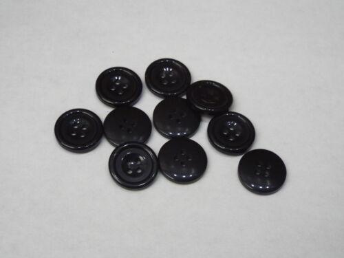 8pc 18 mm Manteau Noir Cardigan Pantalon Chemise Kid baby couture boutons 0257
