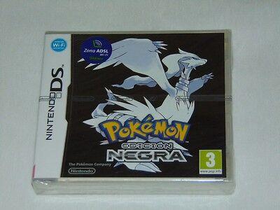 Nintendo DS: Pokemon Edición Negra (ESP) (Nuevo)