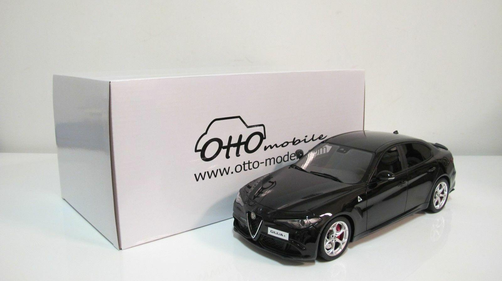 Alfa Romeo Giulia Quadrifoglio 2016  nero 1 18 OT793 Otto-Models
