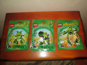 Lego Mixels Series 3 Glurt Glomp Torts OF 3 PACKS NEW