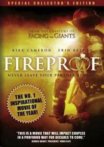 Fireproof (Collector's Edition) - DVD -  Very Good - Erin Betha,Kirk Cameron- -
