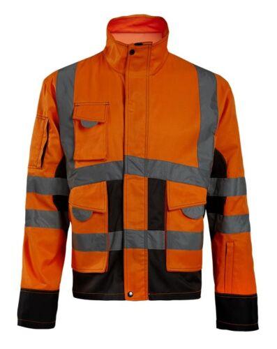 Veste de haute visibilité Asfur orange North Ways taille M L XL XXL XXXL 4XL